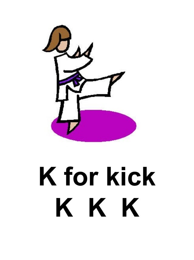 J For Jump JJJ 12 K Kick