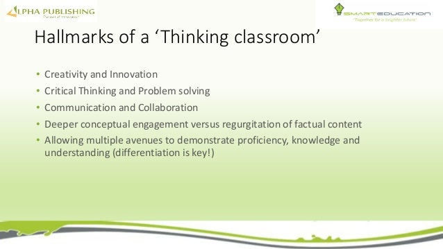 Deeper Learning A Collaborative Classroom Is Key ~ Alpha science presentation
