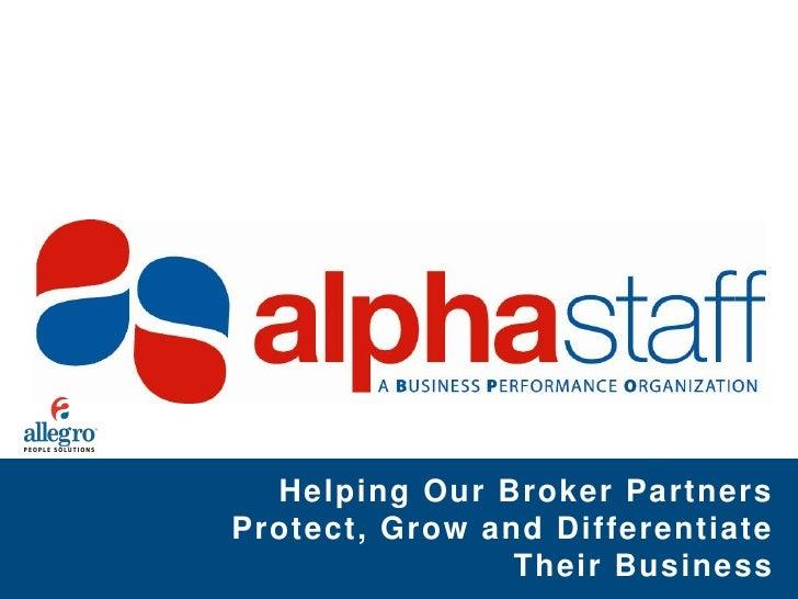 d970a110d99db9 Alphastaff Broker Value Allegro