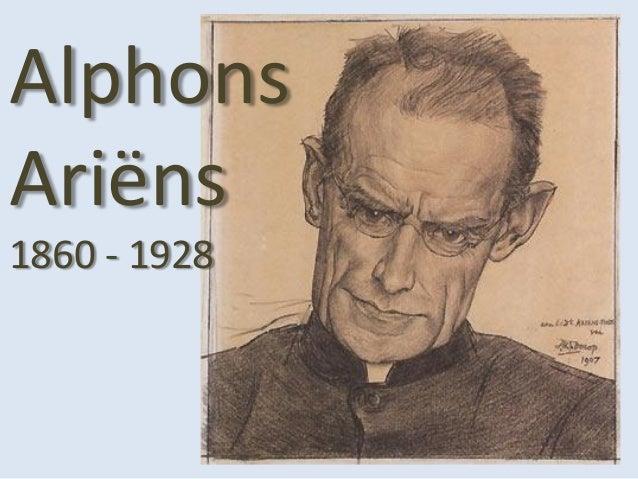 AlphonsAriëns1860 - 1928