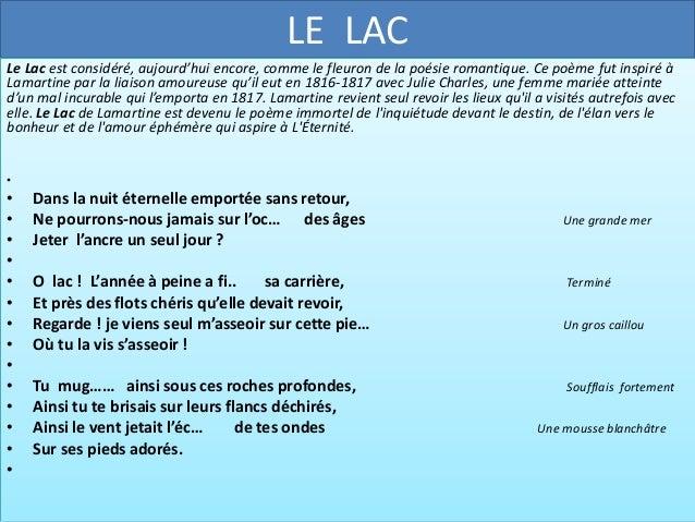 Le Lac Alphonse De Lamartine Introduction To Statistics