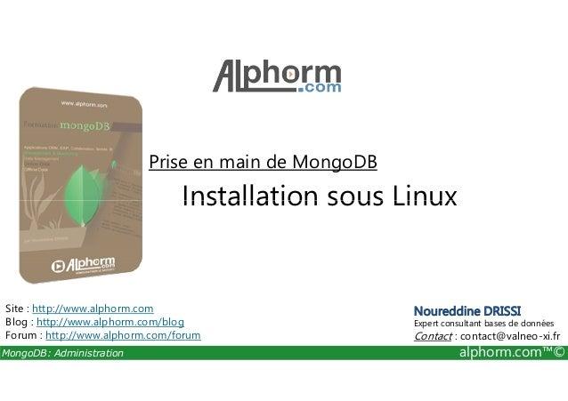yum installer m outils mongo db