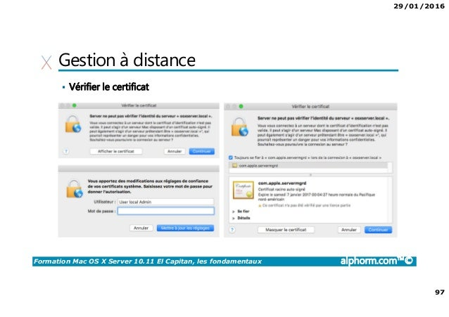 installer à distance mac os x télécharger pour windows