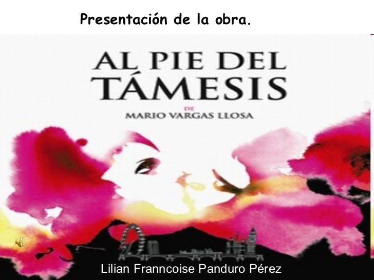 Lilian Franncoise Panduro Pérez Presentación de la obra.