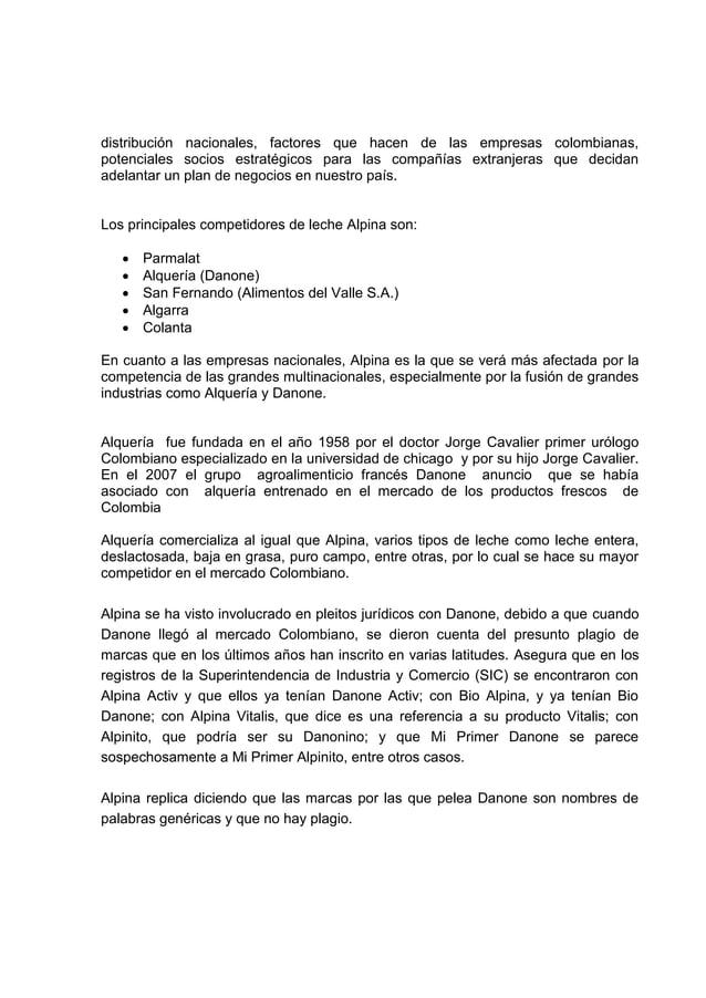 distribución nacionales, factores que hacen de las empresas colombianas,potenciales socios estratégicos para las compañías...