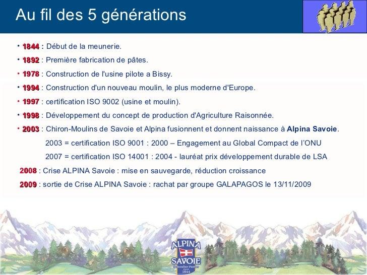La gestion des données techniques chez ALPINA SAVOIE Slide 3
