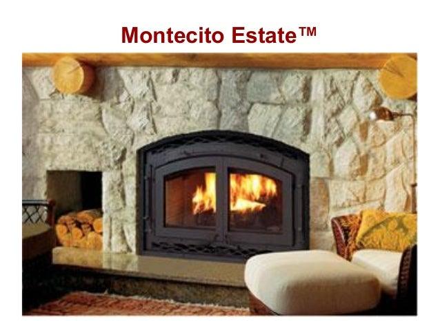 lennox wood stove. montecito estate lennox wood stove