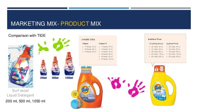 tide detergent 4ps 8 industry structure the us soap and detergent manufacturing industry includes  about 650  29 advertised products tide: liquid laundry detergent.