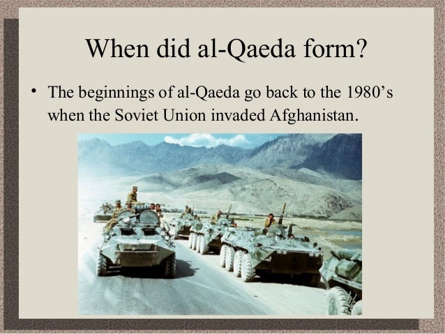 formation of al qaeda The cia gave al-queda its name, meaning, the base ( as in database) the company trained many of those who would become al-queda to fight the soviets in afghanistan.