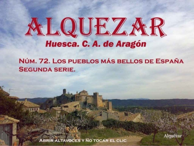 "ALQUEZAR es el nombre derivado del árabe Al Qasar, que significa ""La Fortaleza"","