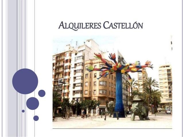ALQUILERES CASTELLÓN