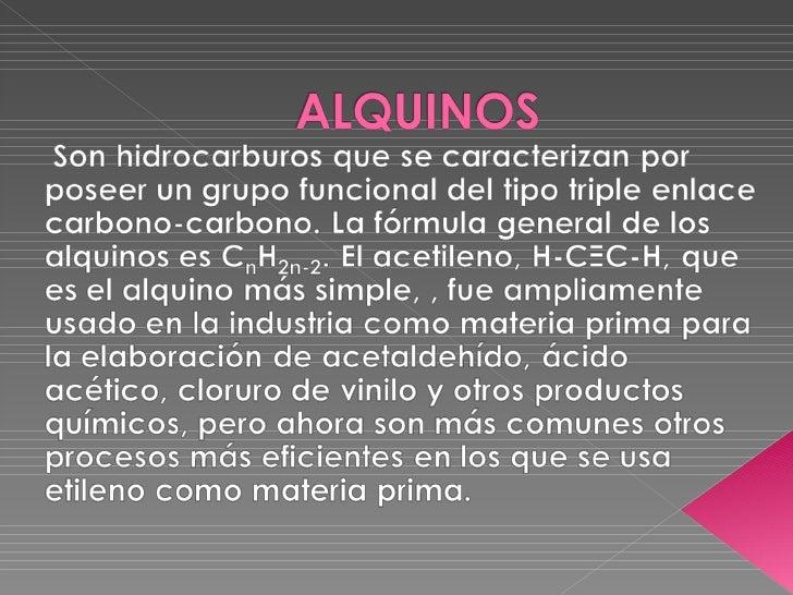 Existen numerosos ejemplos de productos naturales  que contienen triples enlaces.Capillin: Alquino con actividad fungicida...