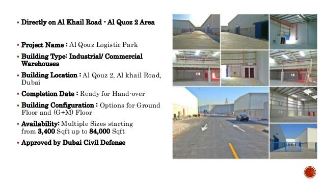 BRAND NEW WAREHOUSES FOR LEASE!