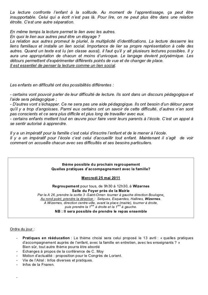 Alral info n° 6 mai 2011 Slide 3