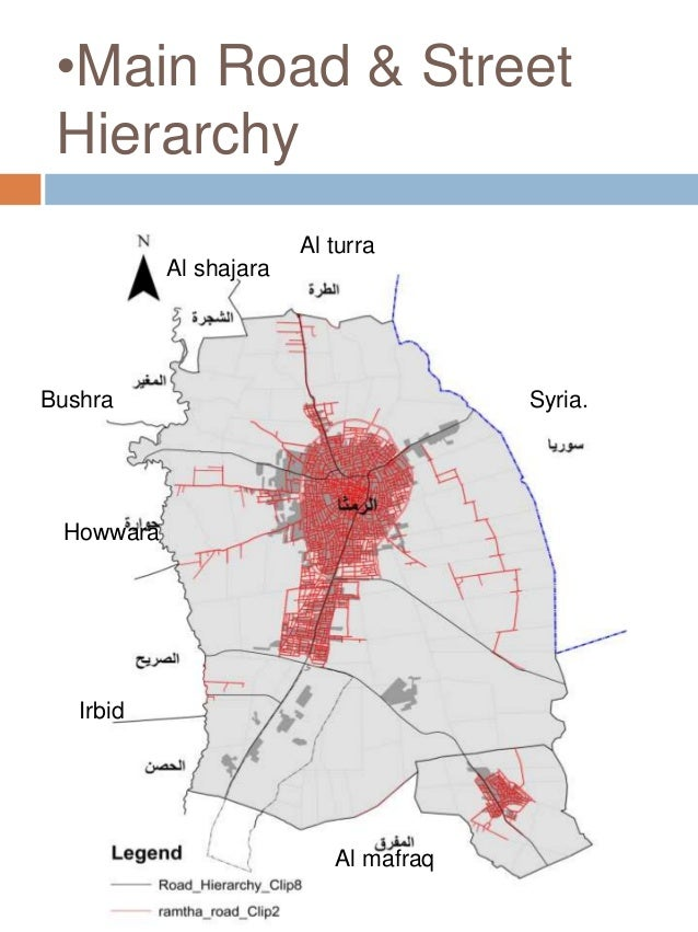 Al ramtha city jordan existing situation stage 1