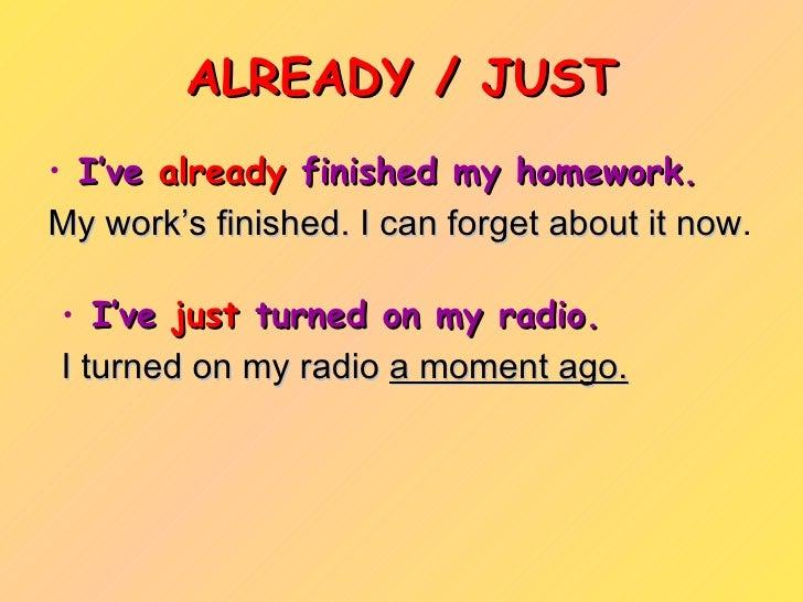 Finish my homework
