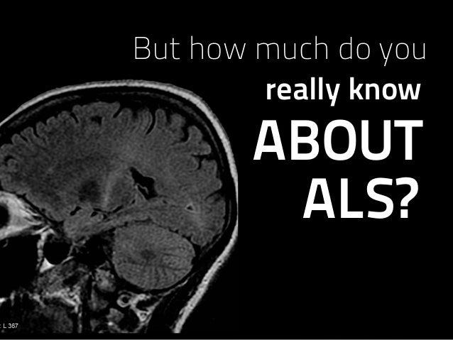 Why You Should Care About ALS @slidecomet @itseugenec Slide 4