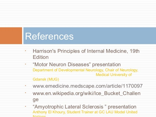 the clinical description of amyotrophic lateral sclerosis als Amyotrophic lateral sclerosis (als) clinical research trials amyotrophic lateral sclerosis (als) clinical research patients with amyotrophic lateral sclerosis.