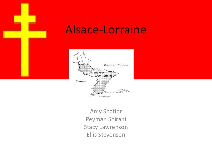 Alsace-Lorraine<br />Amy Shaffer<br />PeymanShirani<br />Stacy Lawrenson<br />Ellis Stevenson<br />