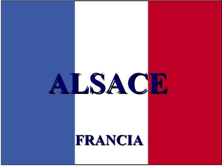 FRANCIA ALSACE