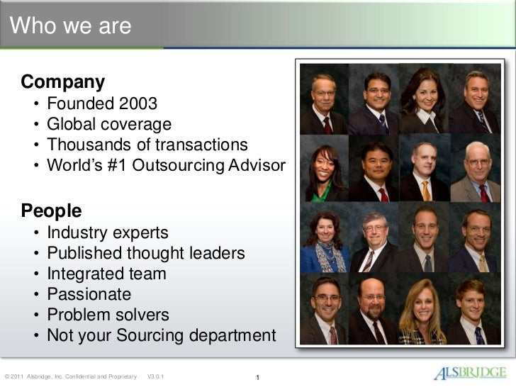 Who we are     Company           •    Founded 2003           •    Global coverage           •    Thousands of transactions...