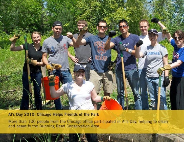 Al's Day 2010: Chicago Helps Friends of the ParkMore than 100 people from the Chicago office participated in Al's Day, hel...
