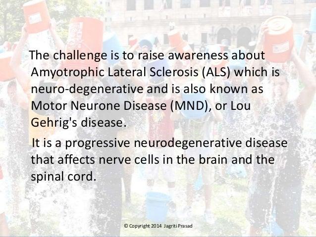 """ALS """"Ice Bucket Challenge"""" Slide 3"""