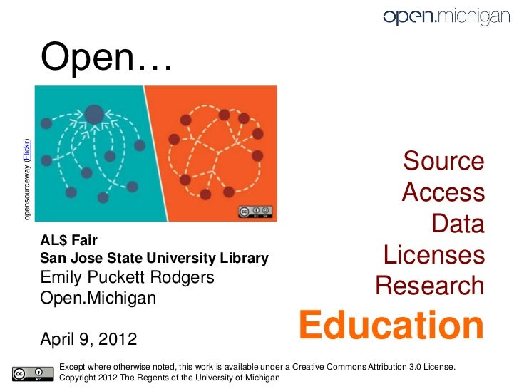 Open…opensourceway (Flickr)                                                                                               ...