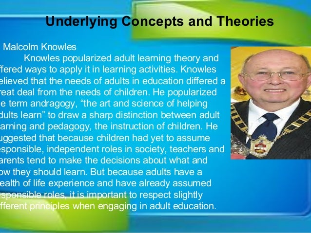 malcolm knowles andragogy in action pdf