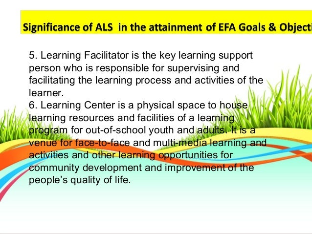 essay on alternative learning system Manoj kumar singh: he is the managing director of als, competition wizard and isgs he is also the project director of general studies learning programme (hindi medium.