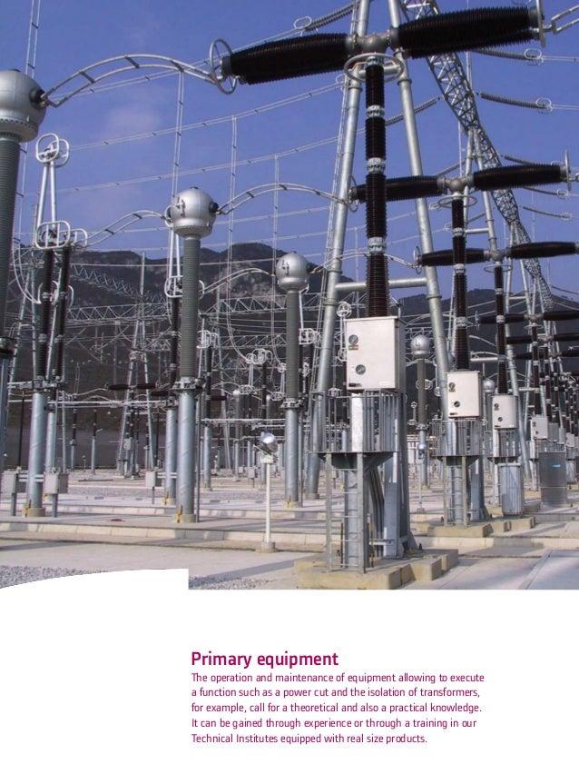 Alstom High Voltage Training Offer - Technical Institute