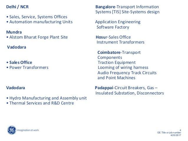 Wiring Harness Manufacturers Bangalore : Alstom india