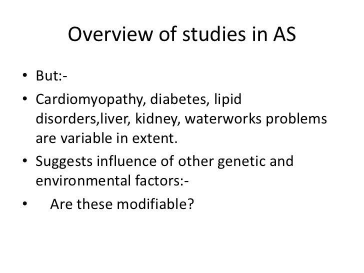 Alström syndrome<br />histology<br />