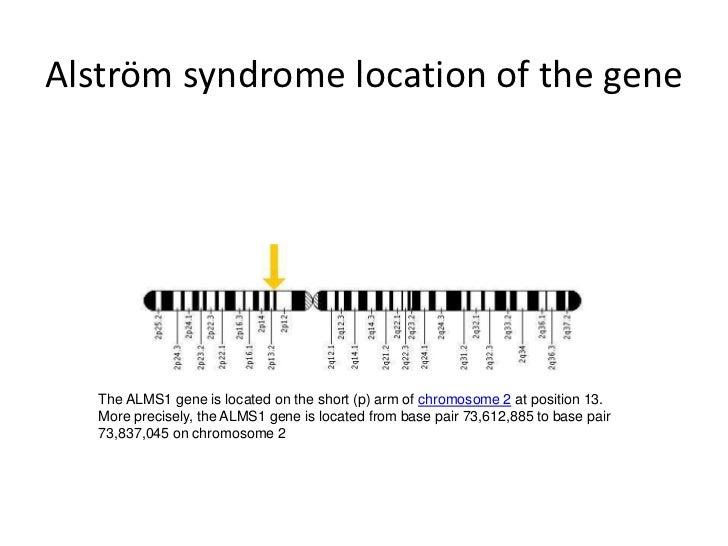 Alström syndrome chromosome 2<br />