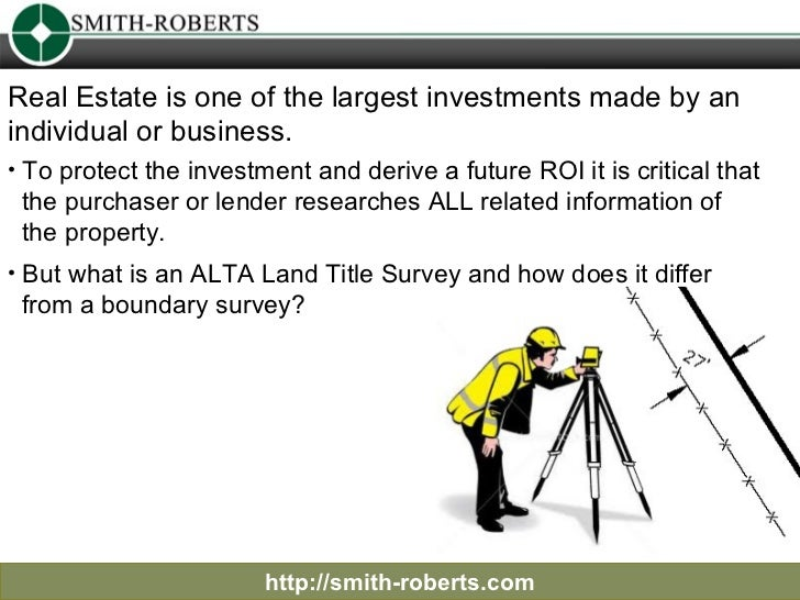 http://smith-roberts.com Real Estate is one of the largest investments made by an  individual or business.  <ul><li>To pro...