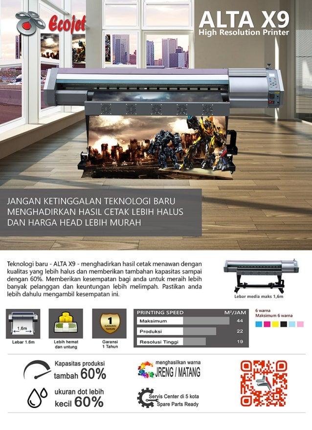 Mesin Digital Printing Alta x9