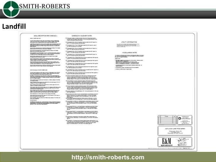 Landfill           http://smith-roberts.com
