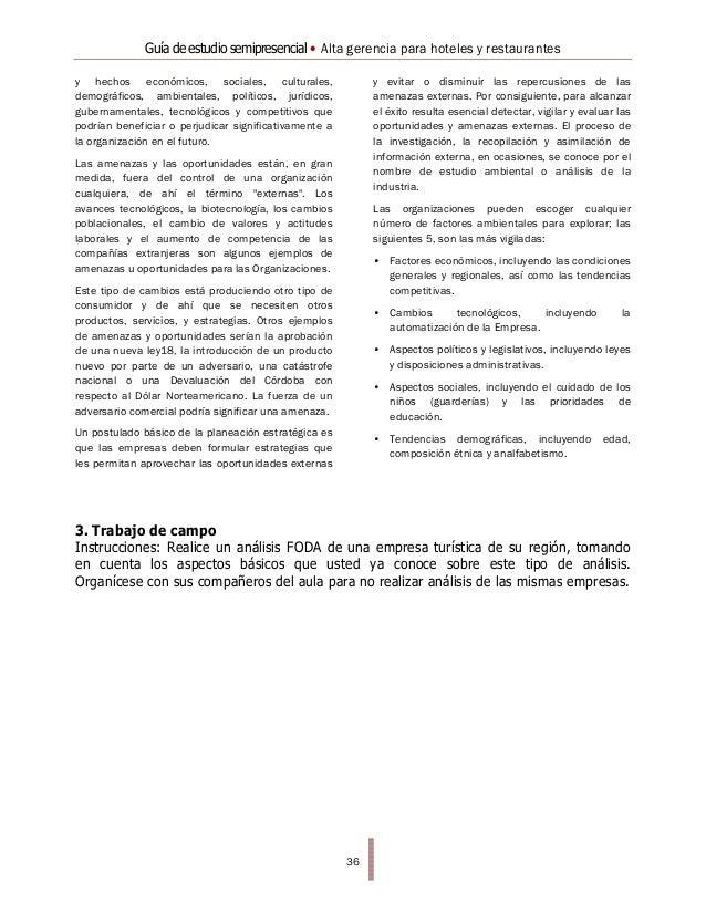 Alta gerencia para hoteles y restaurantes(1)