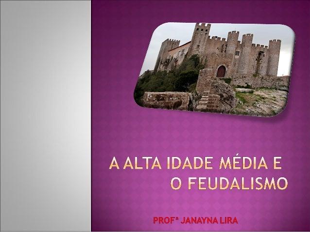  A Idade Média compreende operíodo entre 476 e 1453, quando      ocorreu a conquista de    Constantinopla pelos turcosoto...