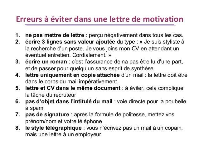 qu est ce qu une lettre de motivation Altaide : Comment booster sa recherche d'emploi ? Le CV et la lettre … qu est ce qu une lettre de motivation