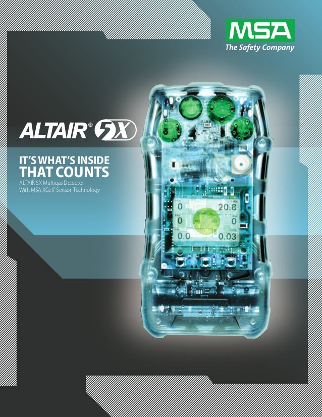 msa altair 5x user manual