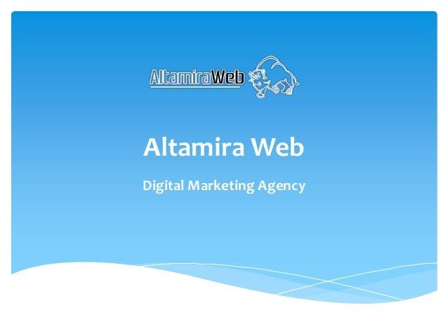 Altamira Web Digital Marketing Agency