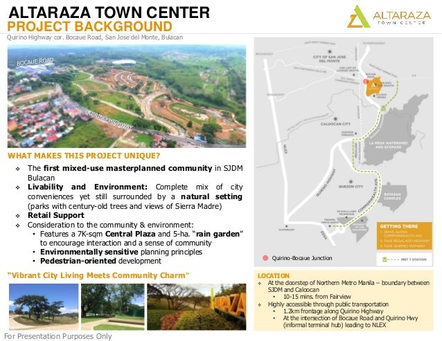 Altaraza Town Center by Ayala Land on