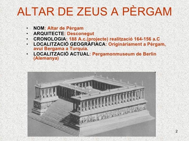Altar De PèRgam Mb Slide 2