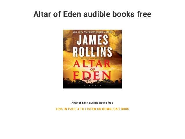 Altar of Eden audible books free