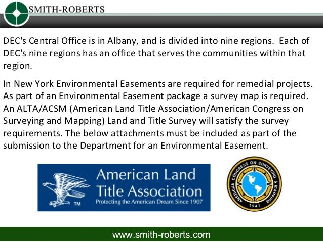 DECs Central Office is in Albany, and is divided into nine regions. Each ofDECs nine regions has an office that serves the...