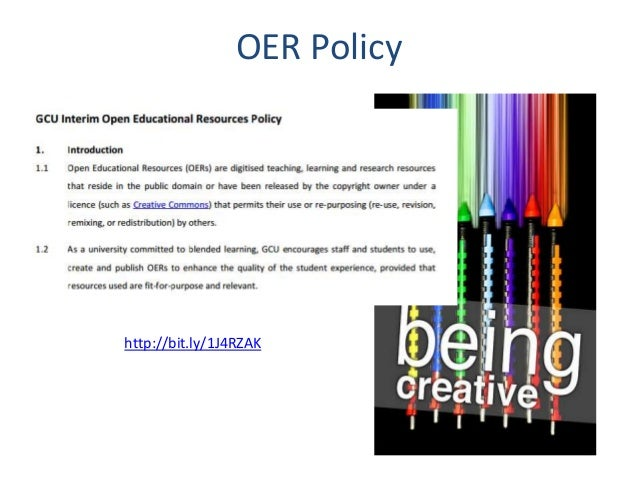 OER Policy http://bit.ly/1J4RZAK