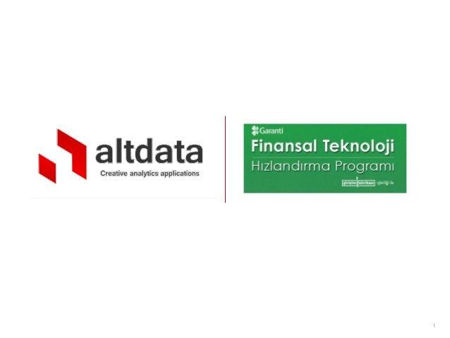 Altdata garanti pos analytics Slide 1