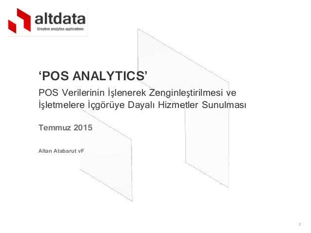 Altdata garanti pos analytics Slide 2