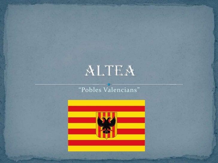 """Pobles Valencians"""